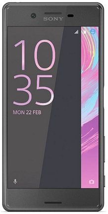 Sony Xperia X Performance black